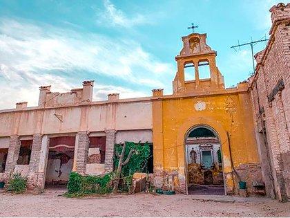 En Arauco, La Rioja, la capilla de las Termas de Santa Teresa, hoy abandonadas