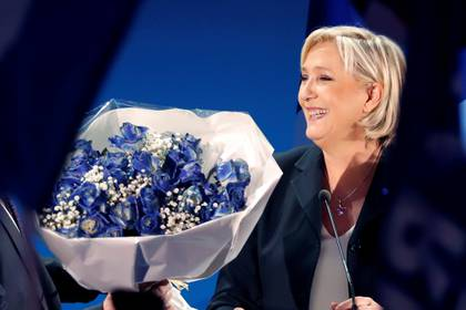 Le Pen le cambió la cara al partido (REUTERS/Charles Platiau)