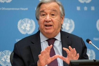 Antonio Guterres, secretario general de la ONU (REUTERS/Eduardo Munoz)