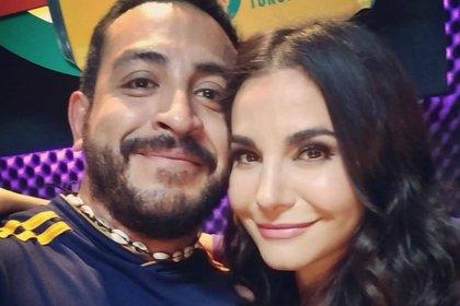 """""""Renata"""" y """"Ulises"""" se reencontraron casi 20 años después (Instagram: luisfernandop:mx)"""