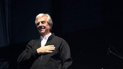 Tabaré Vázquez, presidente de Uruguay de 2005 a 2010 y de 2015 a 2020 (Mariana Greif Etchebehere/Bloomberg)
