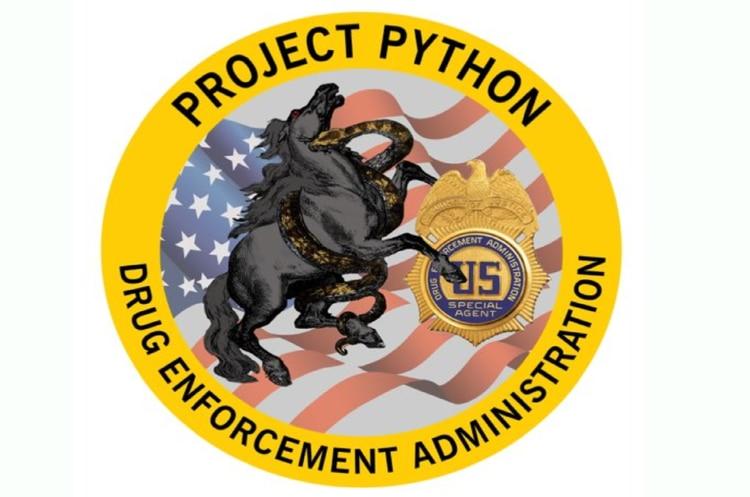 Proyecto Python, operación que se desarrolló a lo largo de seis meses y que permitió la captura de más de 700 miembros del Cártel Jalisco Nueva Generación (Foto: @DEAHQ)