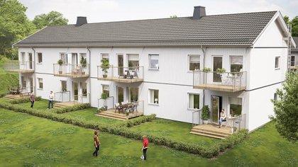 Las viviendas ofrecen parques y pisos de colores claros, electrodomésticos convencionales sin interfaces táctiles o digitales, y espacios sin espejos con el objetivo de evitar que los afectados por la enfermedad se desorienten en sus propios hogares