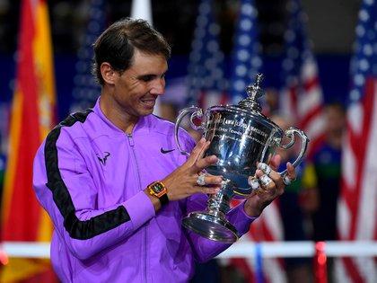 Nadal, último campeón, y Roger Federer estarán ausentes (Robert Deutsch-USA TODAY Sports/File Photo)