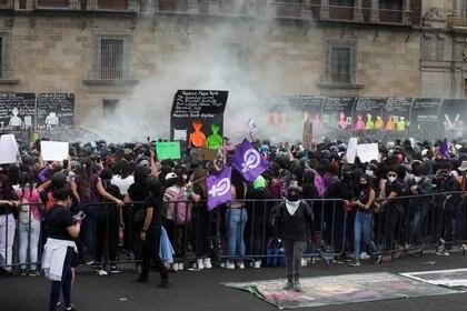 Este 8 de marzo, Día Internacional de la Mujer, colectivos y ciudadanas se manifiestan a lo largo de la República, incluida la CDMX (Foto: Mahe Elipe/ Reuters)