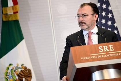 El excanciller de México Luis Videgaray (Foto: Brendan Smialowski/REUTERS)
