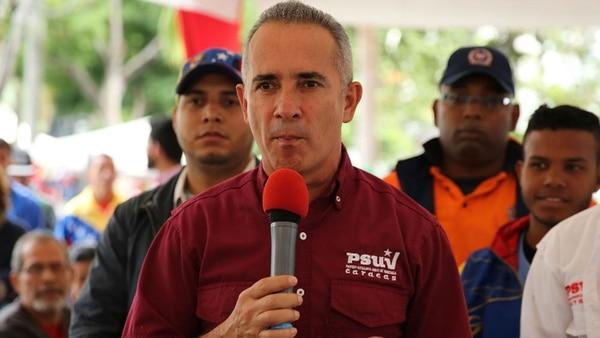 Freddy Bernal, ex jefe de la policía chavista y responsable del Centro Nacional de Mando y Control de los Comités Locales de Abastecimiento y Producción (CLAP)