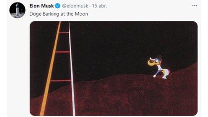 Elon Musk, con un nuevo tweet sobre el dogecoin