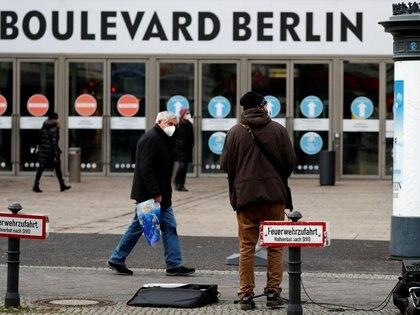 Las autoridades alemanas criticaron a los dirigentes de ultraderecha que rechazan las medidas de contención de la pandemia (REUTERS/Fabrizio Bensch)