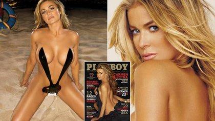 Carmen en la revista, en enero de 2009 (Gentileza Playboy)