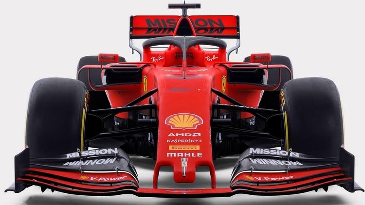 El nuevo modelo de Ferrari para la temporada 2019 (EFE)