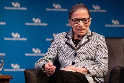 Ruth Bader Ginsburg (REUTERS/Lindsay DeDario/Archivo)