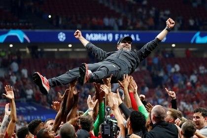 Klopp ganó la Champions League 2018/19 (Reuters)