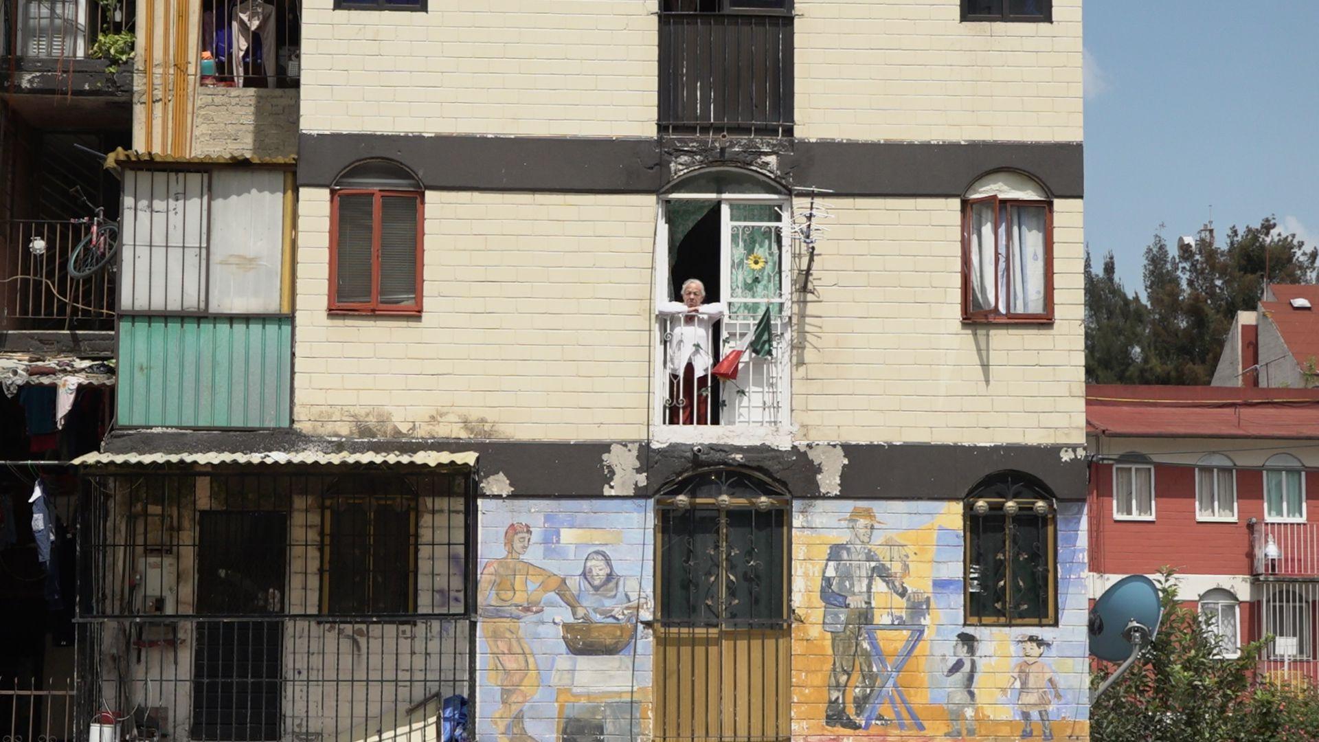 Murales de Daniel Manrique. (Foto: Juan Vicente Manrique/Infobae)