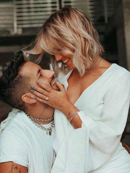 Ricky Montaner le propuso casamiento a Stefi Roitman (Foto: Instagram)