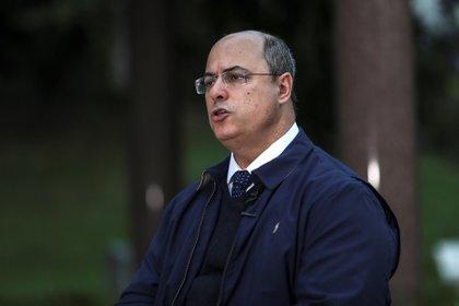 El gobernador del estado de Río de Janeiro, Wilson Witzel. EFE/ Antonio Lacerda/Archivo