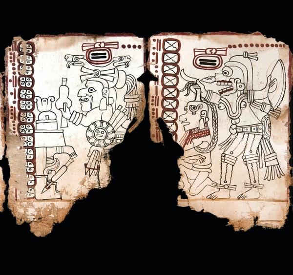Investigadores mexicanos confirmaron la autenticidad de un códice maya de hace 1.000 años