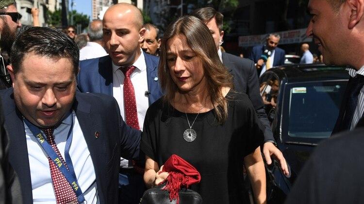 La Ministra de Seguridad, Sabina Frederic.