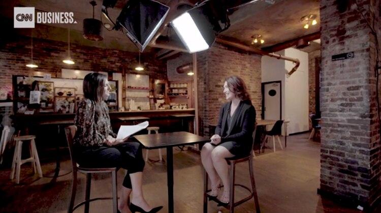 """""""Siempre me sentí muy complicada acerca de los roles de género en Silicon Valley"""", explicó Randi (Foto: captura de pantalla)"""