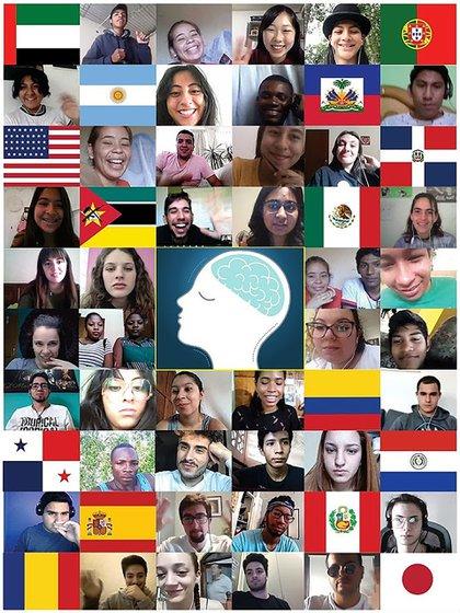 El estudio constó en más de treinta ciberencuentros con alrededor de 2.600 jóvenes de distintos países del globo