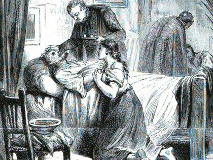 La epidemia de fiebre amarilla azotó a Buenos Aires en 1871.