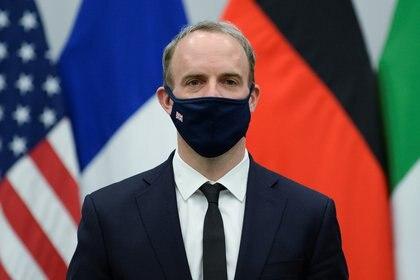 El ministro británico de Exteriores, Dominic Raab. REUTERS/Johanna Geron/Pool