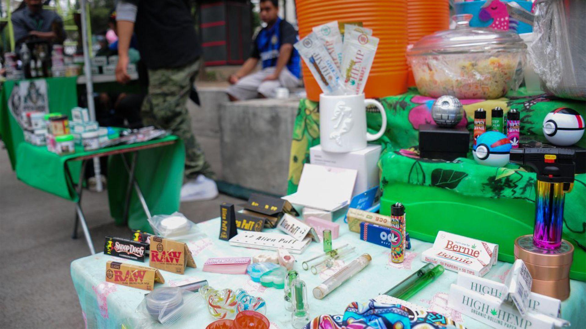 venta de productos cannabicos Glorieta de Chilpancingo (Foto: Cuartoscuro)