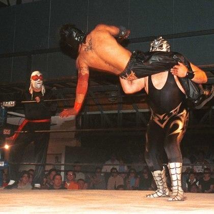 Héctor Villareal mencionó que el negocio de la lucha libre cambió (Foto: Eunice Adorno/CUARTOSCURO)