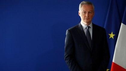 Bruno Le Maire, Ministro de Economía y Finanzas de Francia