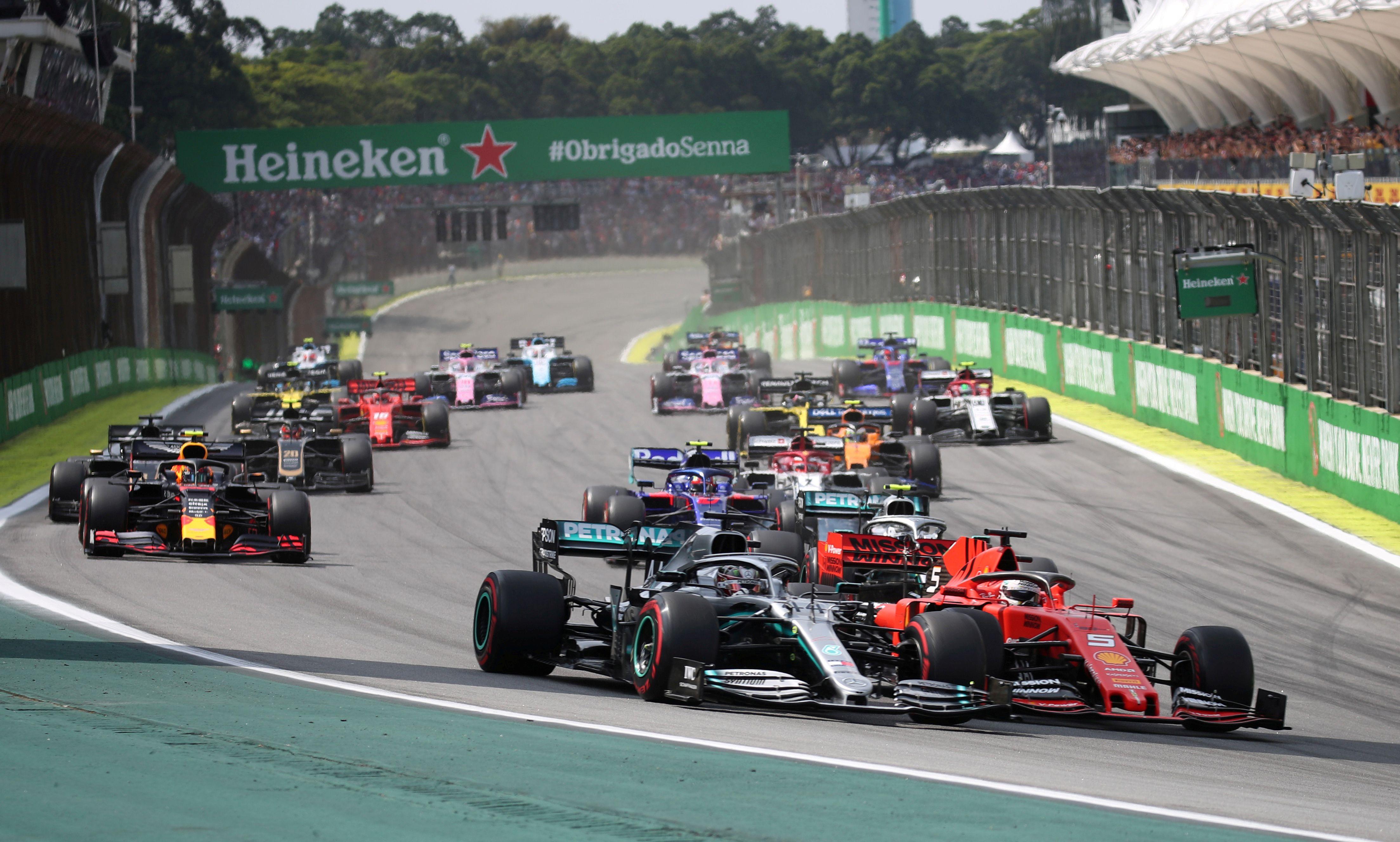 La Fórmula 1 anunció su calendario 2021 (Reuters)