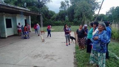 Una comunidad wichi en Formosa