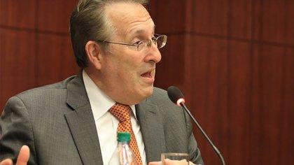 Anthony Wayne dijo haberse sorprendido cuando se enteró de la captura en EEUU de García Luna (Foto: Archivo)