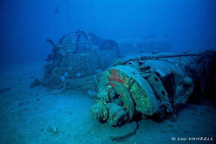 """El buzo Luc Varnell llegó al lugar donde se hallaban los restos del avión del autor de """"El Principito"""""""