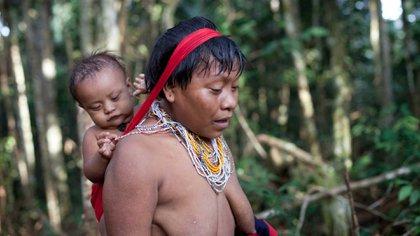 Comunidades aborígenes del Amazonas. Foto: Archivo DEF.