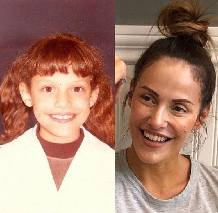 Al igual que Fede Bal, la periodista Connie Ansaldi eligió publicar una foto de su infancia. ¡Hermosa! Pero así no vale…