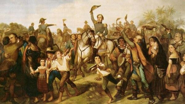 El príncipe Pedro I declaró la independencia de Brasil