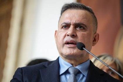 El fiscal general de la dictadura de Venezuela, Tarek Saab