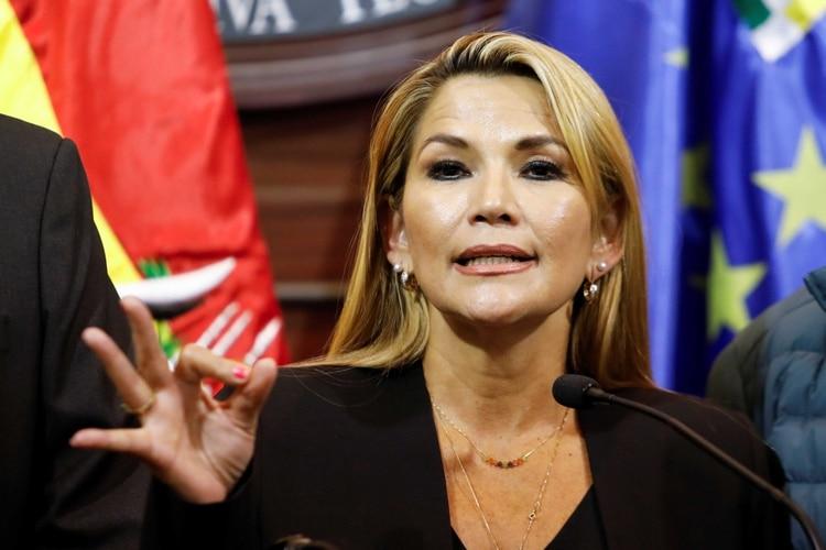 Jeanine Áñez (Reuters)