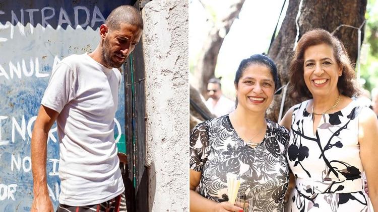 El acusado y las dos turistas israelíes que fueron asesinadas en Mendoza