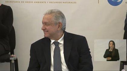El ejecutivo federal celebró la ampliación de zona libre en los estados fronterizos (Foto: Captura de pantalla)