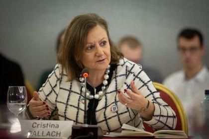 La secretaria de Estado de Asuntos Exteriores y para Iberoamérica y el Caribe, Cristina Gallach (David Zorrakino - Europa Press)