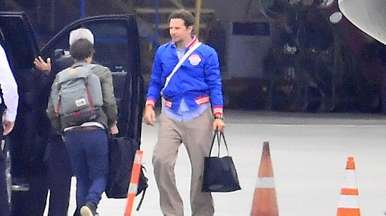 Las primeras fotos de Bradley Cooper con su pequeña hija y sin Irina Shayk (The Grosby Group)