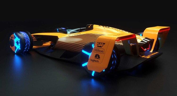 Tendrá aerodinámica activa, con alerones y deflectores que se mueven solos según la necesidad.