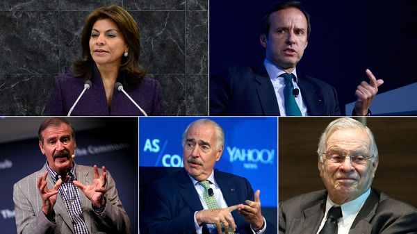 Cinco ex presidentes latinoamericanos viajarán a Venezuela para participar como observadores del plebiscito opositor