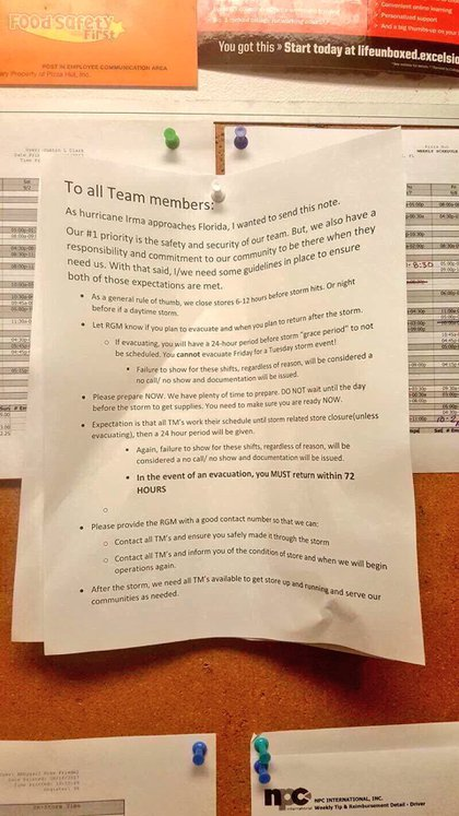 La nota que circuló en las redes sociales y despertó la furia de los usuarios contra Pizza Hut