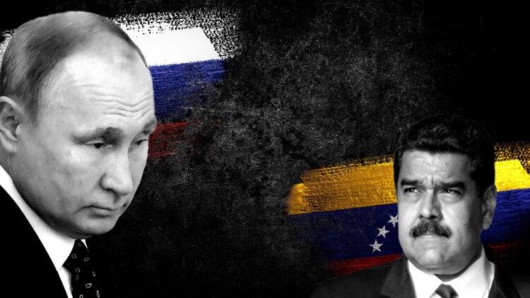 Vladimir Putin mantiene una relación cada vez más fría con Nicolás Maduro