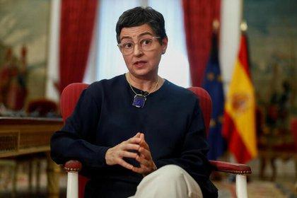 La ministra de Asuntos Exteriores española, Arancha González Laya (Reuters)