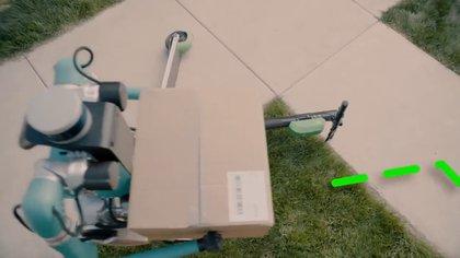 Digit es un androide con dos patas de cigüeña, brazos capaces de transportar una carga de 40 libras