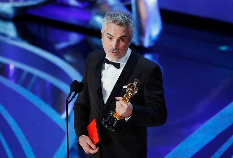 "Alfonso Cuarón,""Roma"". REUTERS/Mike Blake"