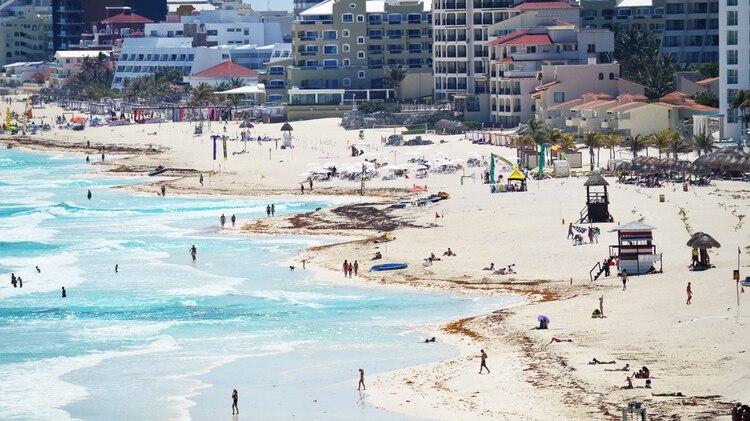 Cancún tuvo su peor enero en 7 años. (Foto: Cuartoscuro)